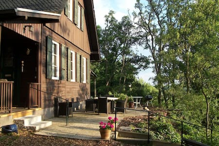 Cosy holiday home in Dommershausen with terrace
