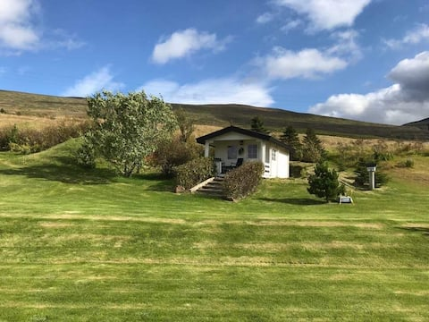 Guesthouse with a beautiful view of Akureyri.
