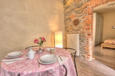 LA PERLA small two-room apartment in the square - Orta San Giulio - Apartment