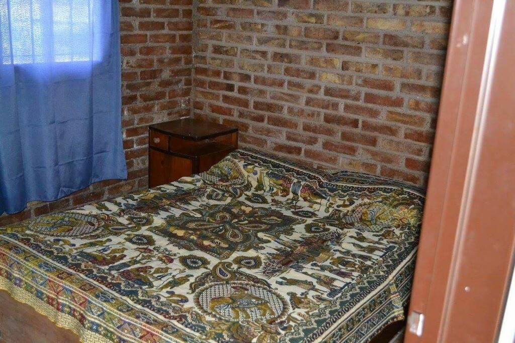 Cabaña 1 - Habitación matrimonial