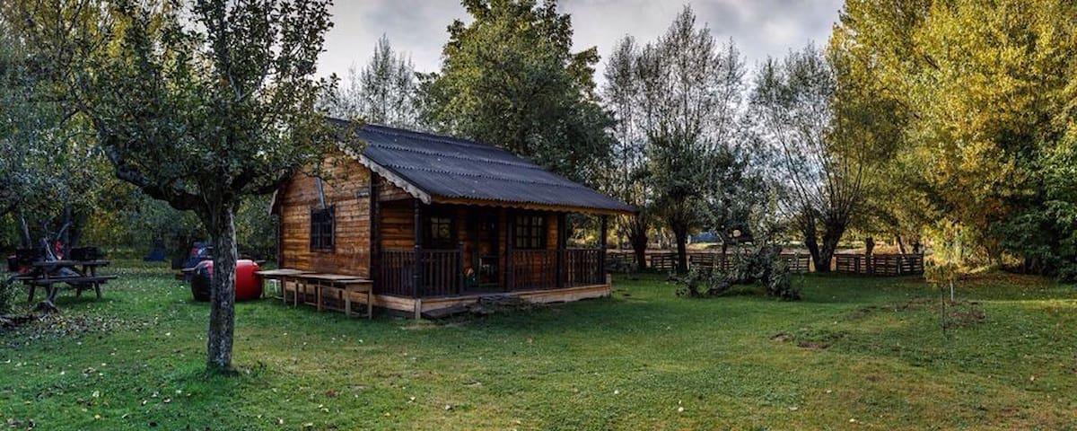 Cabaña del río - Castrillo de Porma