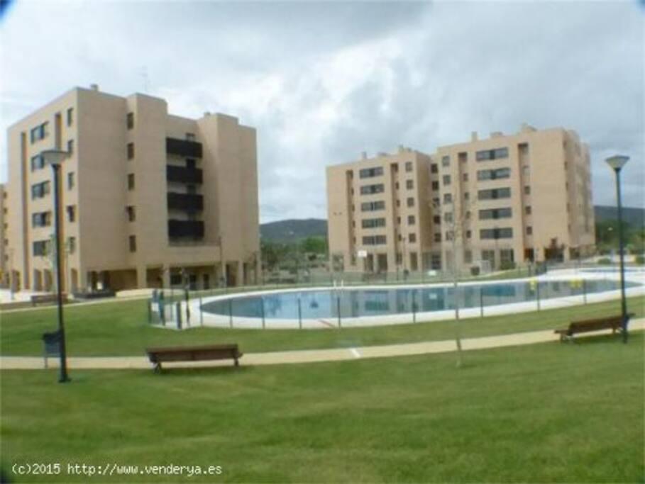 Residencial Alameda. Vista general de la urbanización