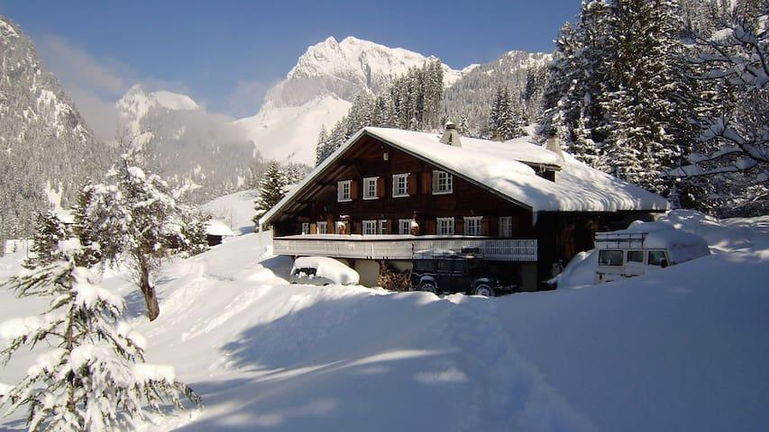 Chalet La Cote Ski chalet rental  Portes du Soleil - La Chapelle-d'Abondance - Lomamökki
