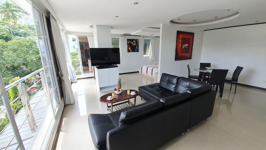 Large Studio Fully Furnished near Kata beach [2]