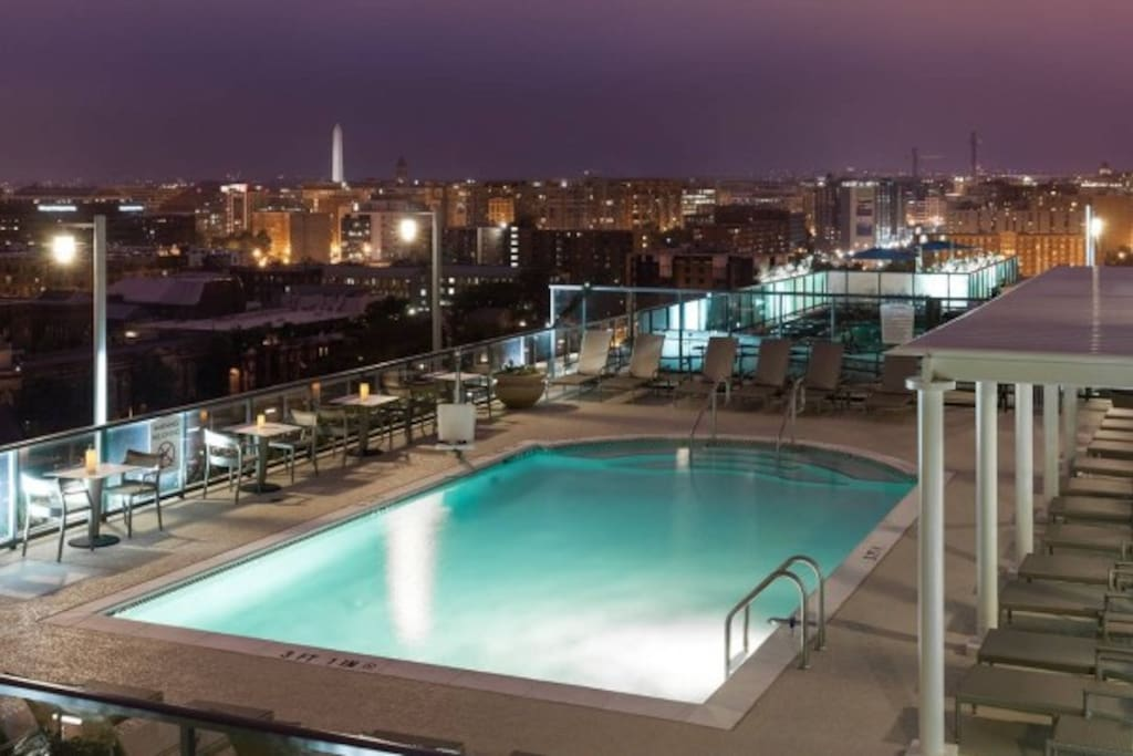 Modern 1br With Rooftop Pool Apartments For Rent In