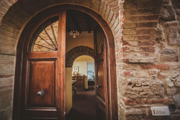 Wonderful apartment near Montepulciano