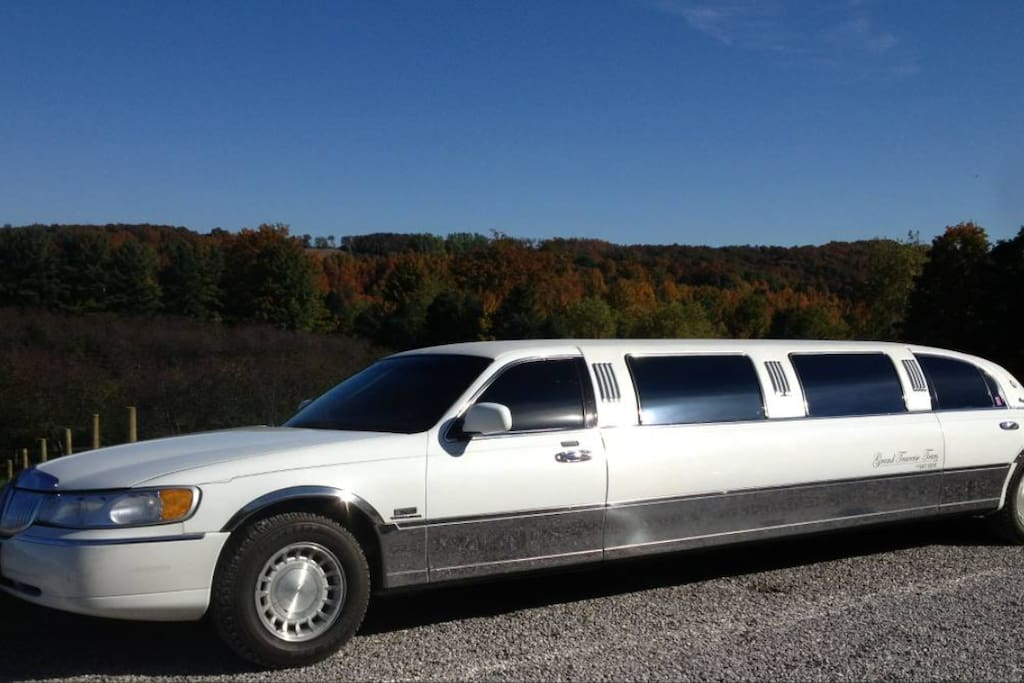 Limo available for sightseeing, wine tours, brewery tours and more!