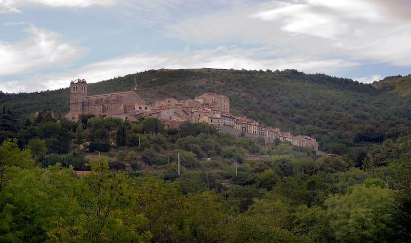 Vakantiehuis in het dorp Mosset, Franse Pyreneeën - Mosset - Stuga