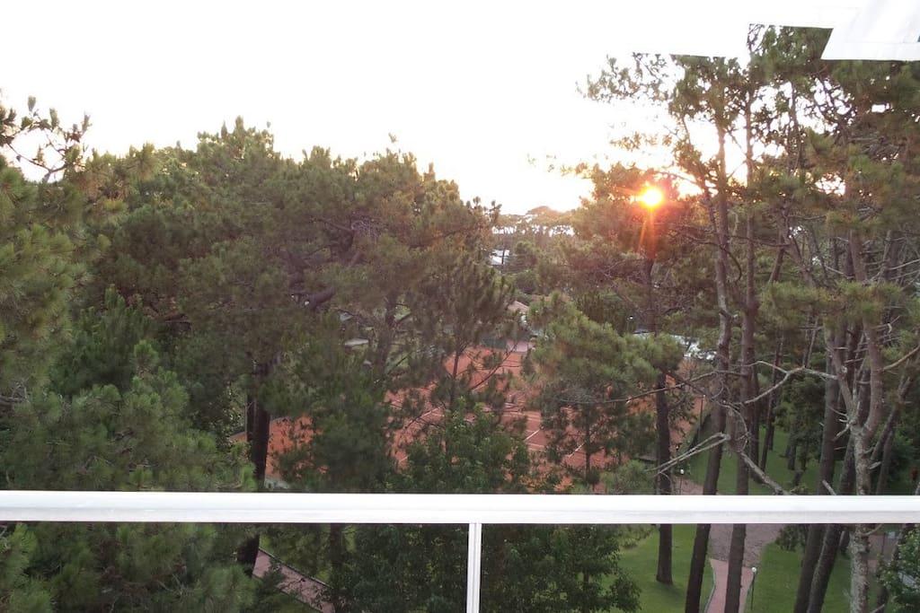 Sunset view /Puesta del sol/ Por do Sol