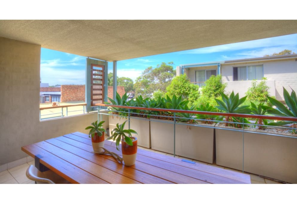 Spacious outdoor entertaining areas, including 2 sun-drenched balconies.
