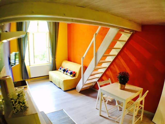 Colorfull Apartment close to the city center