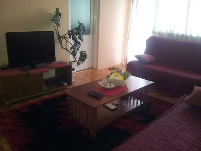 Two roomed apartment at the center of Sarajevo