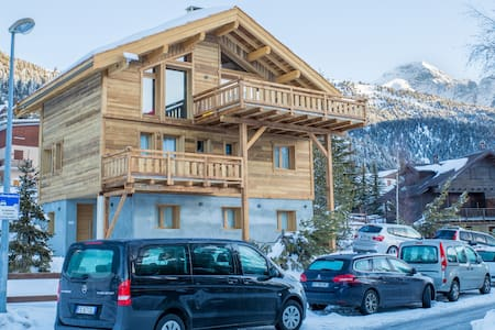 Chalet neuf 2017 - 20 pers. - Plein sud - Montgenèvre - Xalet