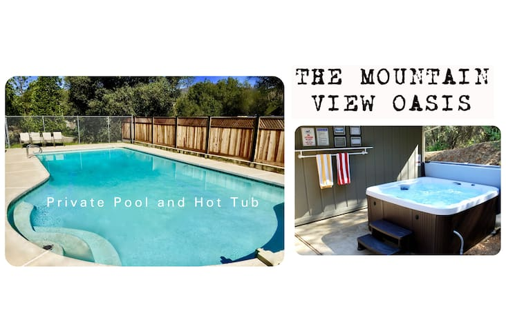 In town! The Mountain View Oasis- Pool & HotTub