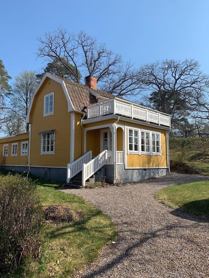 Skärgårdshus på Furusund