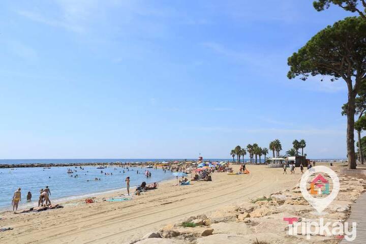 Apartamento frente a playa y 10 min Port Aventura