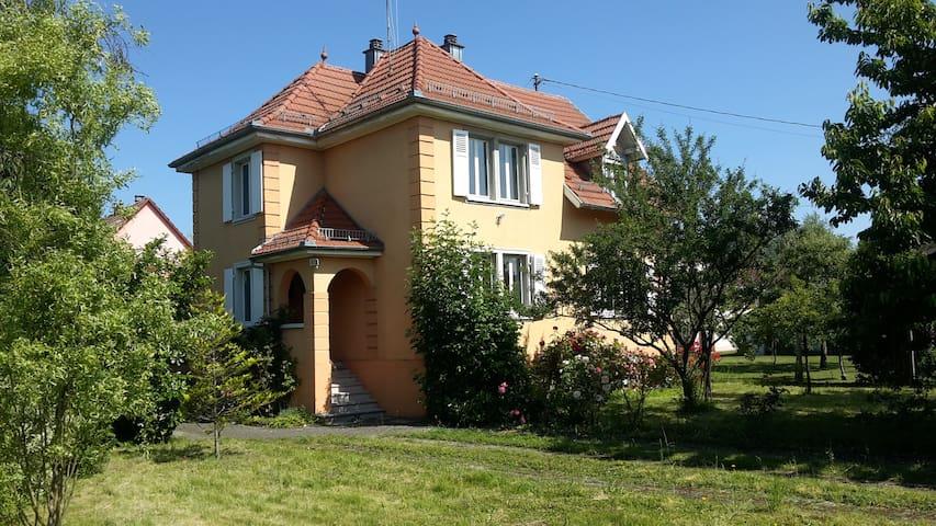 Maison alsacienne Gambsheim proche Strasbourg