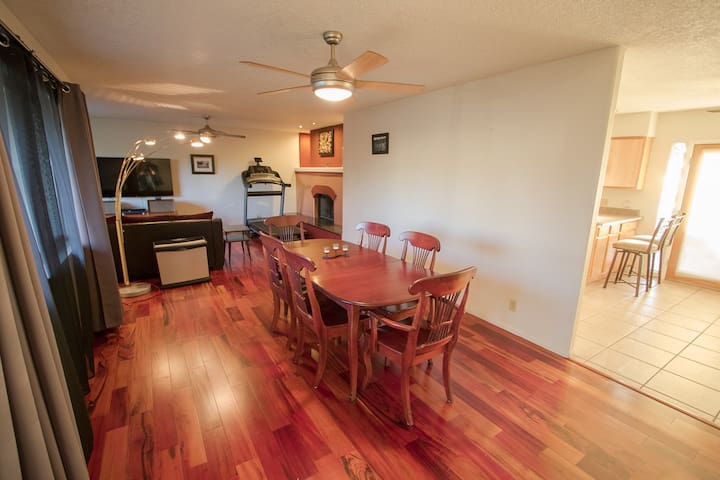 Elegant Three-Bedroom Home in ABQ Uptown