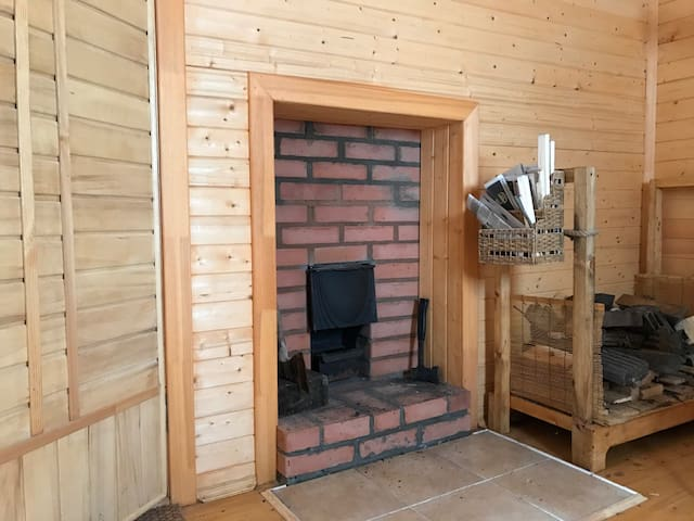 Riverside House in authentic Russian Village - Kashinsky District - Natuur/eco-lodge