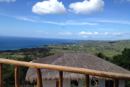 72sm2 big one bed room with balcony - Siquijor