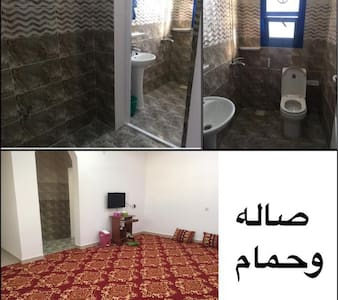 Furnitured house for daily and monthly rent in sur