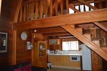 Loft Cabin Kitchen