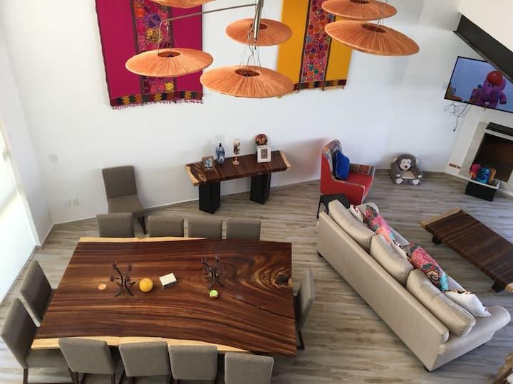 Casa en Tequisquiapan con alberca privada