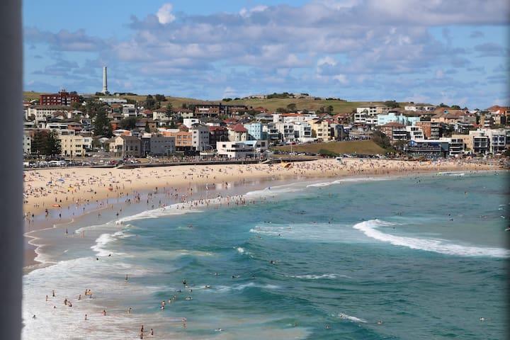 Bondi Beach Ocean Views - few footsteps from beach