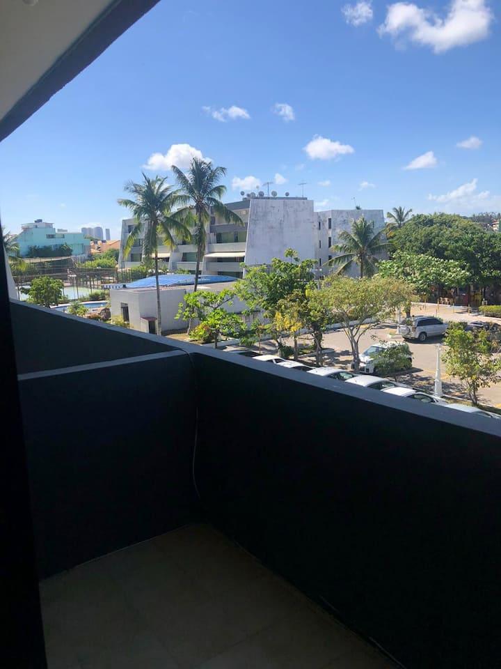 Apartamento na orla de Salvador