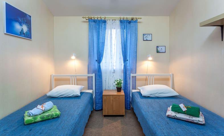 Место в двухместном номере на Курской
