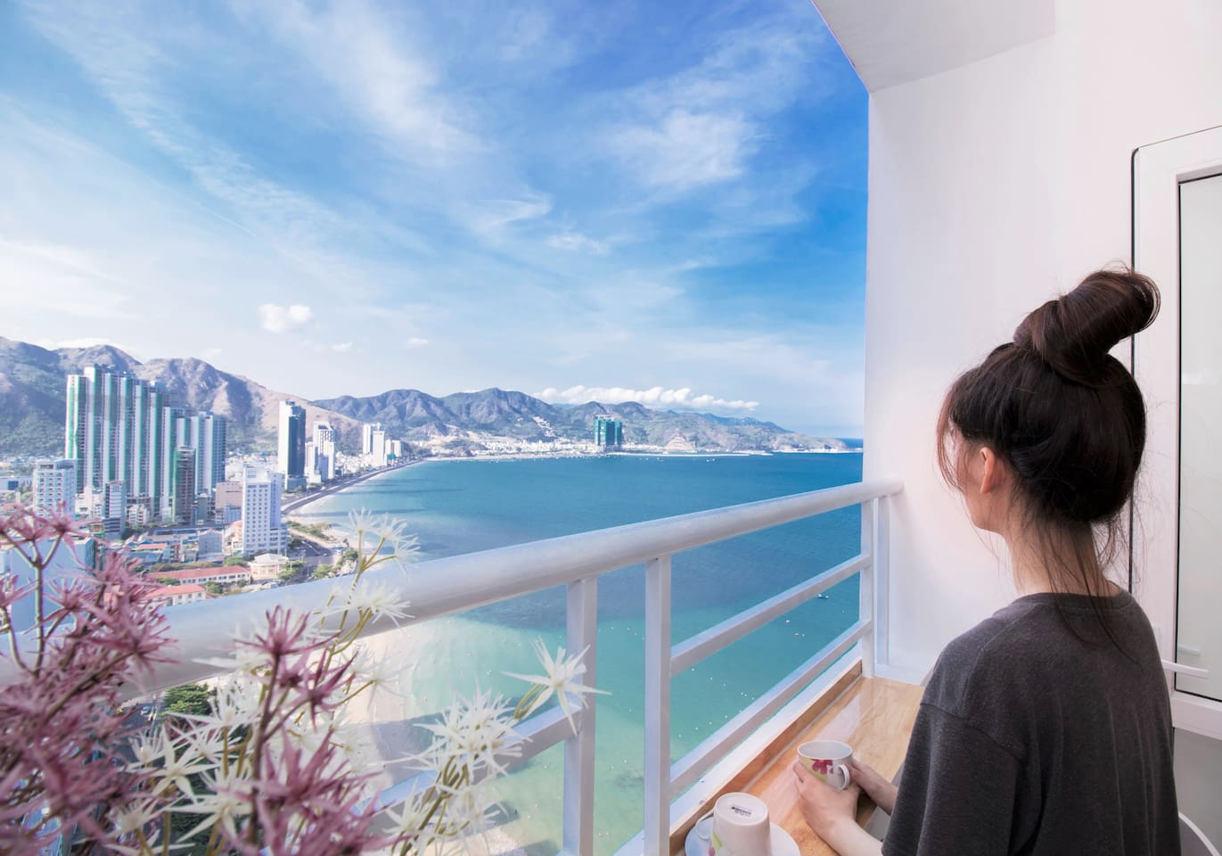 Indulge in the natural landscape of Nha Trang bay!