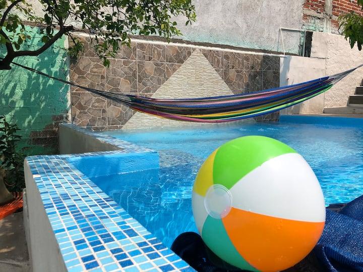 Oaxtepec casa con alberca solo para ti privada ..