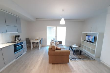 Modern furnished flat with Parking,  near Rusko