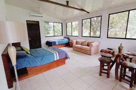Rancho Rasgos Dragonfly room rainforest paradise