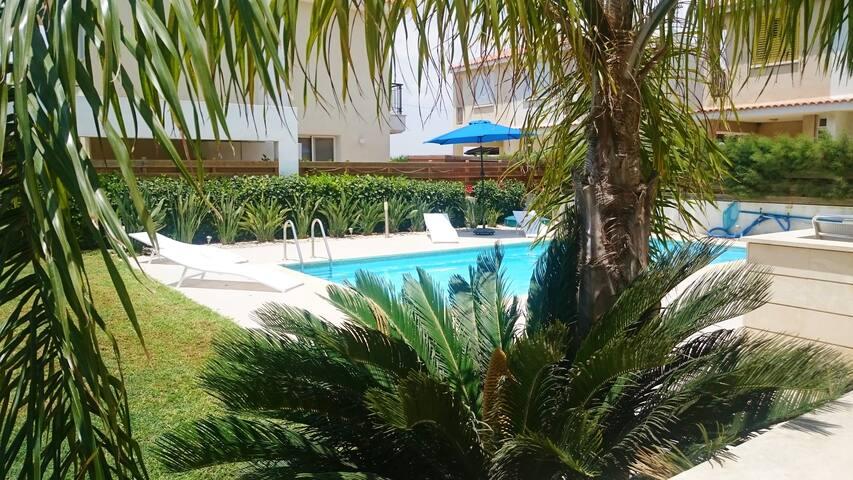 MED VIEW BEACH VILLA - Larnaca - Villa