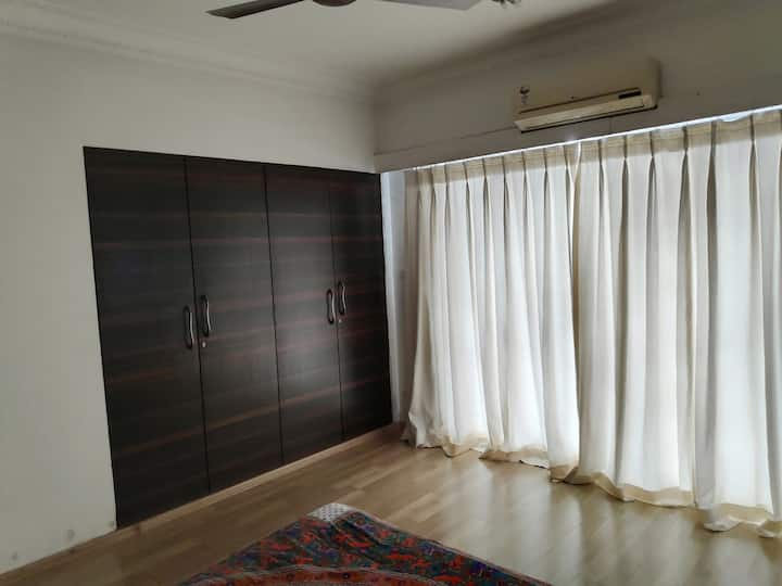 Cozy private room + bathroom in multistorey apmnt