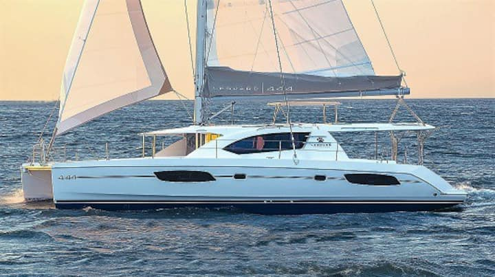 SY Leopard 44 - float house in the Andaman Sea