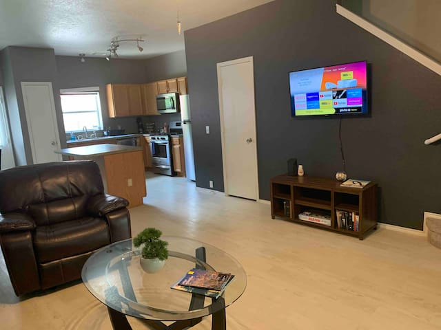 43 inch Tv in Living Room with Netflix access