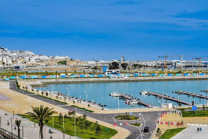 Appartement F2 meublé au centre ville de Tanger.