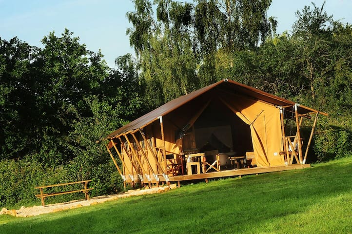 Luxury safari tents in Burgundy! - Colméry - Tent