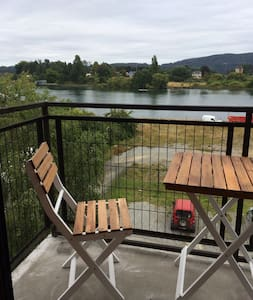 Loft by the river, steps from DWTN - Valdivia - Pis