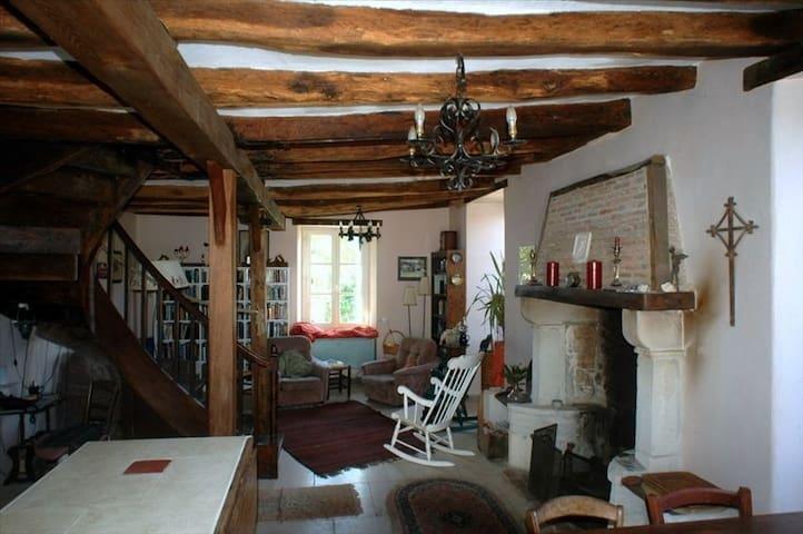 la Grange aux Dimes - Saint-Pierre-de-Maillé - Dom