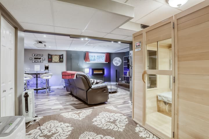 2BR Modern Cozy Basement Suite with nice Amenities