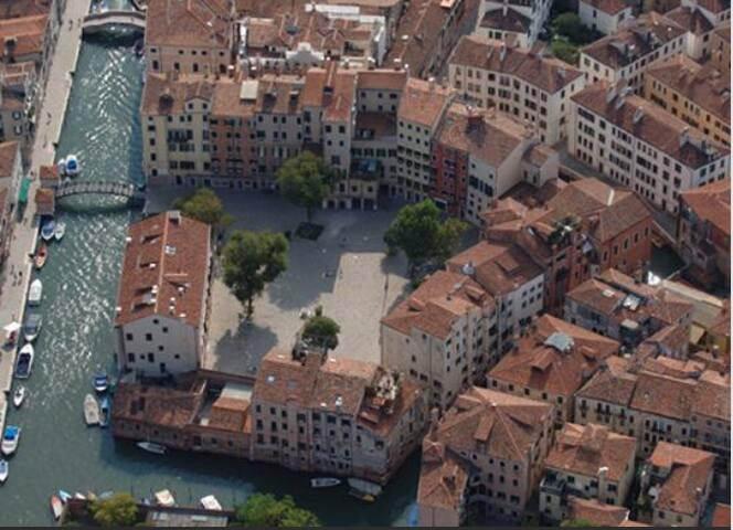 BH ל Jewish Ghetto, Lamed - Venetsia - Huoneisto