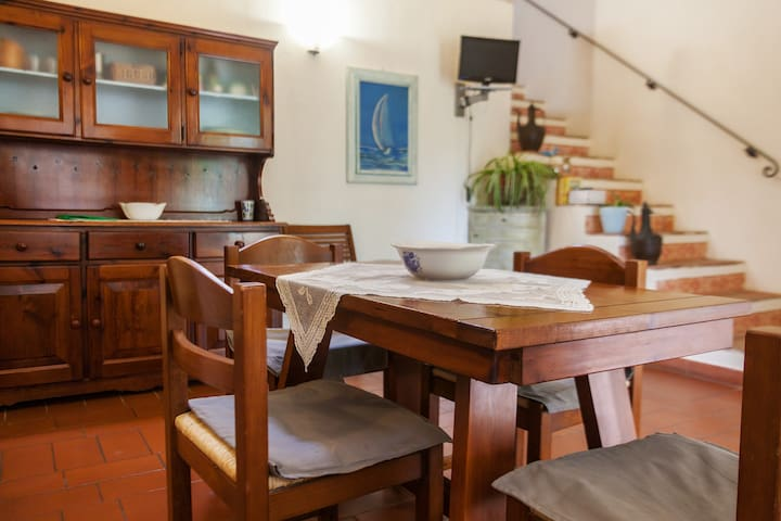 Casa colonica le Pitte, caratteristico monolocale