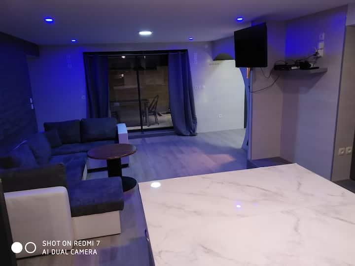 Très beau logement design a 10 min de dijon
