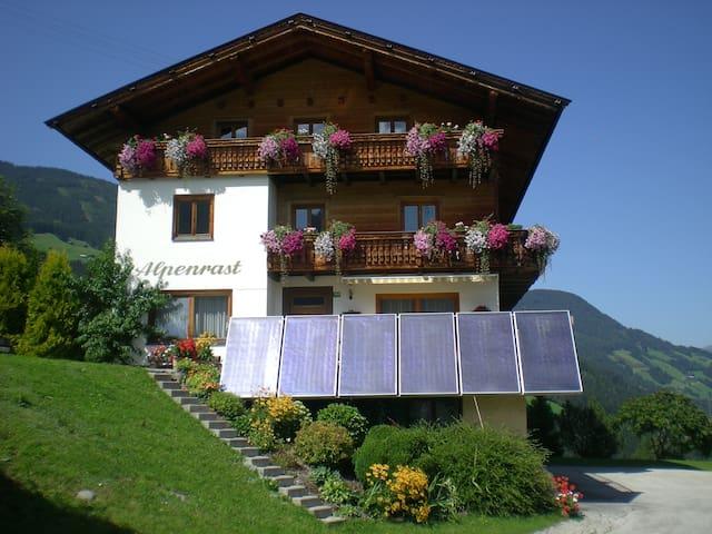 Herzlich Willkommen im Apart Alpenrast - Fügen - Appartement