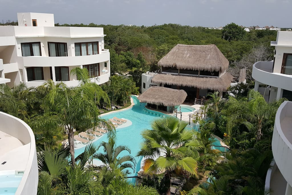 Clothing Optional Private Jacuzzi Rooftop Pool Hotels For Rent In Tulum Quintana Roo Mexico