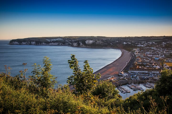 Jurassic Coast beach townhouse - Seaton - Hus