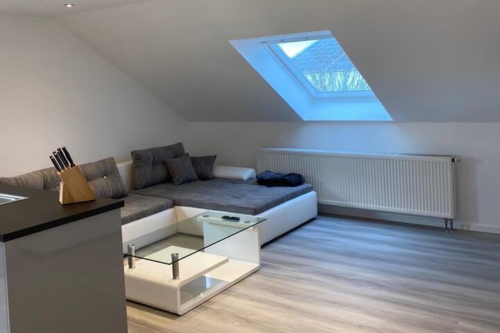 Neu Renovierte 59m²  Dachgeschoss Wohnung